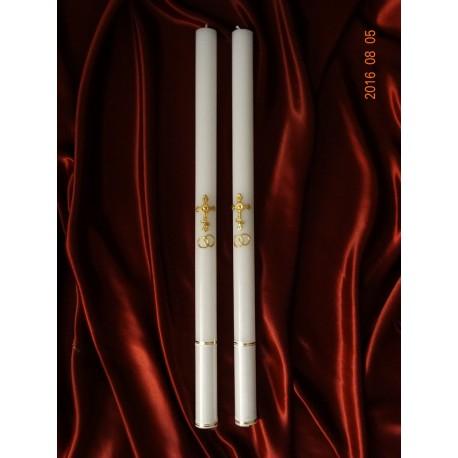 Сватбени свещи модел № 15