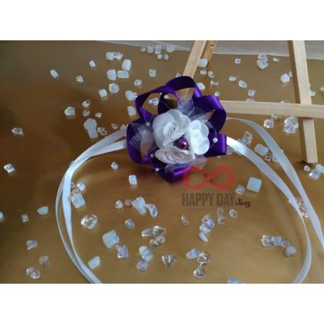 Сватбена бутониера-гривна Тринити