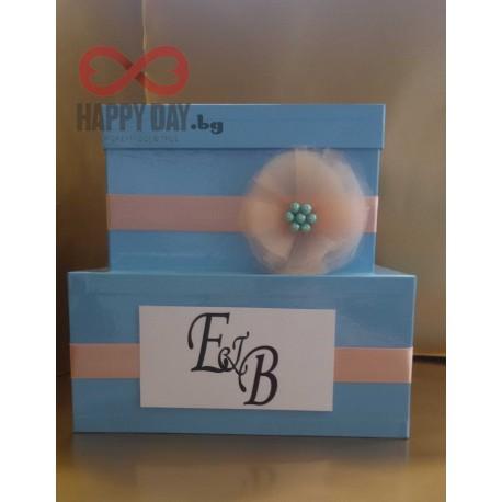 Сватбена кутия за пожелания и пари Елена