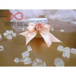 Сватбено подаръче за гостите - Бурканче с мед Корделия