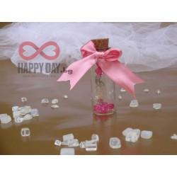 Сватбено подаръче за гостите - Шишенце с любов