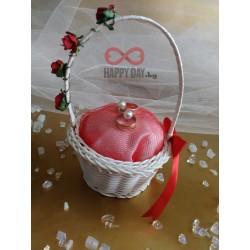 Сватбена кошничка за халки Ралица