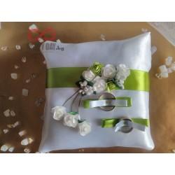Сватбена възглавничка за халки Рената