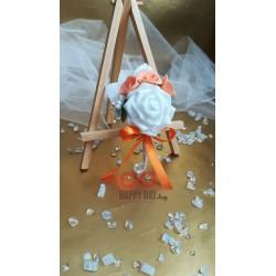 Сватбена бутониера за ревер Корина