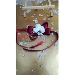Сватбена бутониера за ръка - гривна Даника
