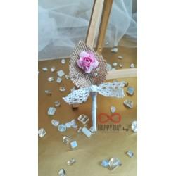 Сватбена бутониера за ревер Ембърли