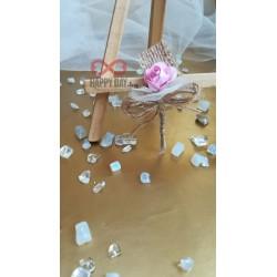 Сватбена бутониера за ревер Лейни