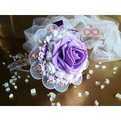 Сватбен букет за хвърляне / букет за шаферки Лучия